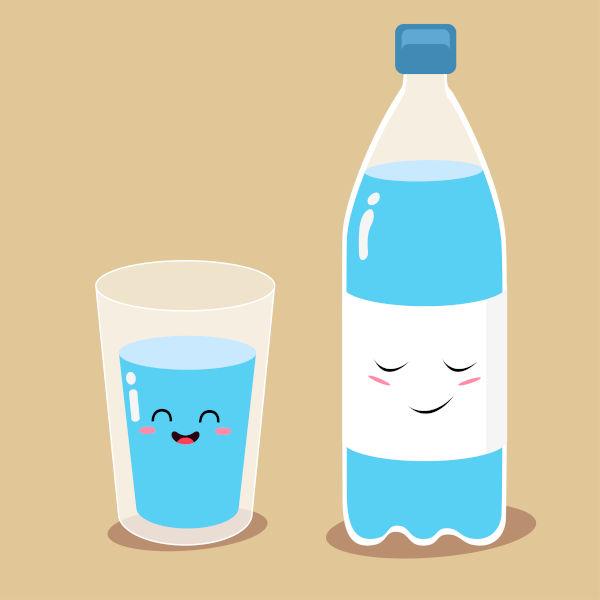 A água própria para o consumo é chamada de água potável e não apresenta riscos à saúde.
