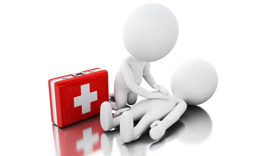 Os primeiros socorros podem salvar uma vida.