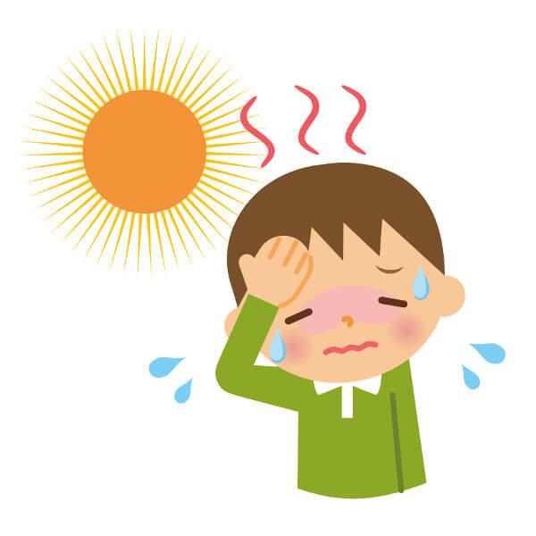 Uma das formas de perda de água pelo nosso corpo é por meio do suor.