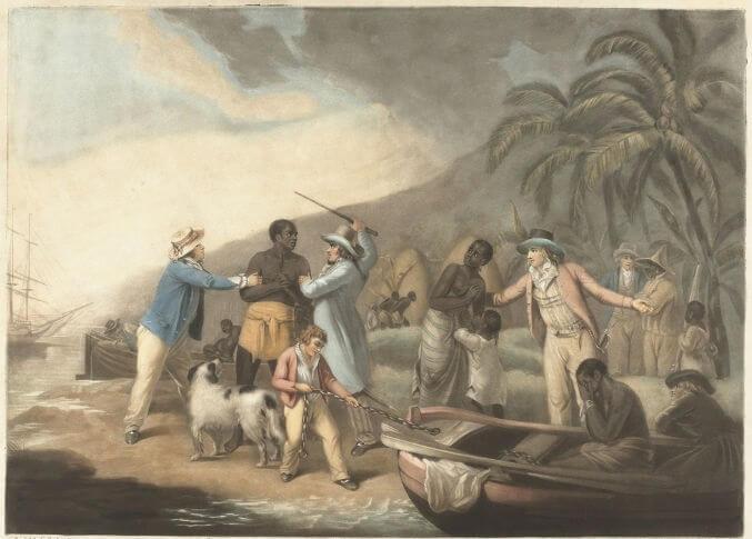 O movimento abolicionista chegou a atuar, até mesmo, contra a venda de escravos no Brasil.