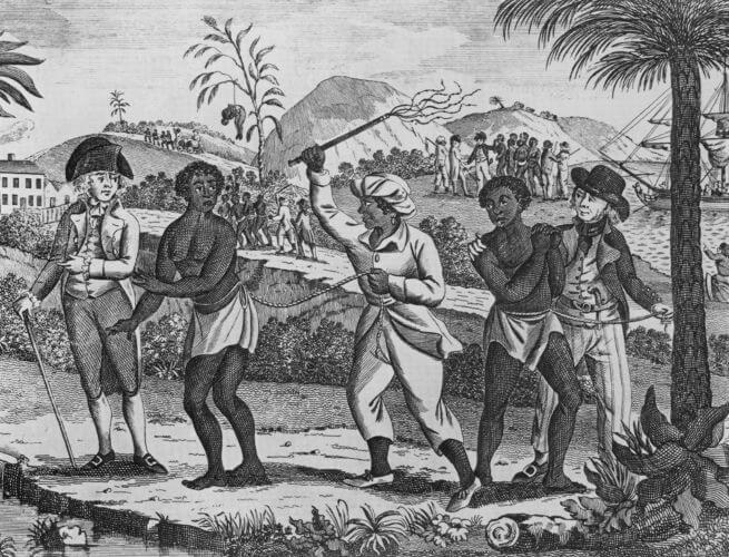 Os cativos eram obtidos na África por meio de emboscadas realizadas pelos traficantes ou eram prisioneiros de guerra.