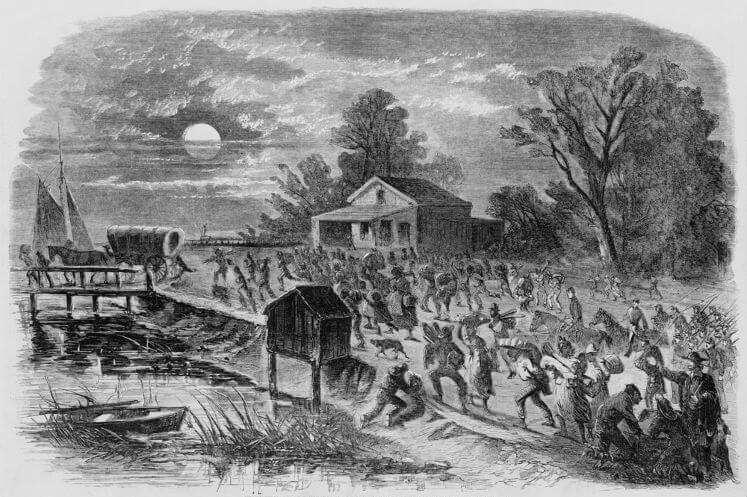 A fuga foi uma das formas de resistência mais praticadas pelos escravos no Brasil.c