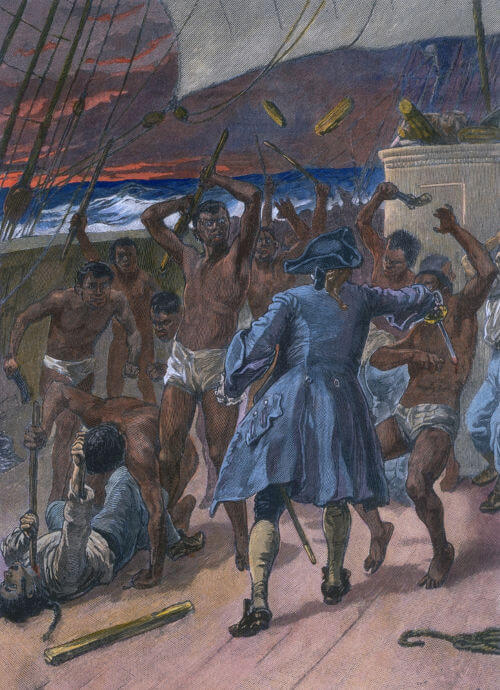 A revolta de africanos nos navios negreiros era comum e, por isso, eles eram intensamente monitorados.