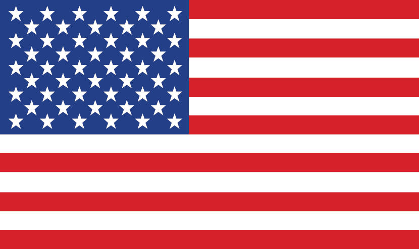 As faixas da bandeira dos Estados Unidos representam as Treze Colônias antigas e as estrelas representam os 50 estados.