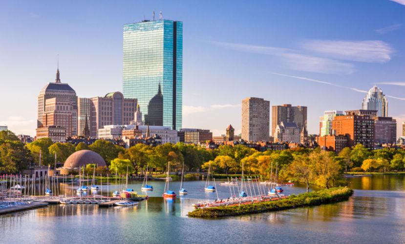 Boston é um dos mais importantes centros financeiros dos Estados Unidos.