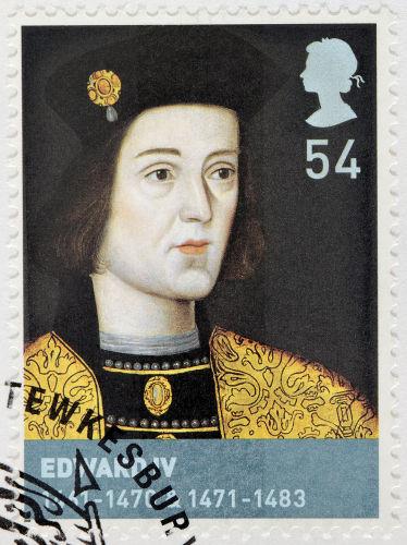 Eduardo IV, filho de Ricardo, duque de York, tornou-se rei da Inglaterra em 1461.*