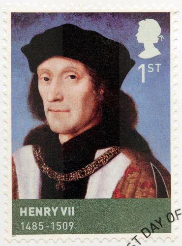 Henrique Tudor, derrotou Ricardo III na Batalha de Bosworth Field e tornou-se Henrique VII.*