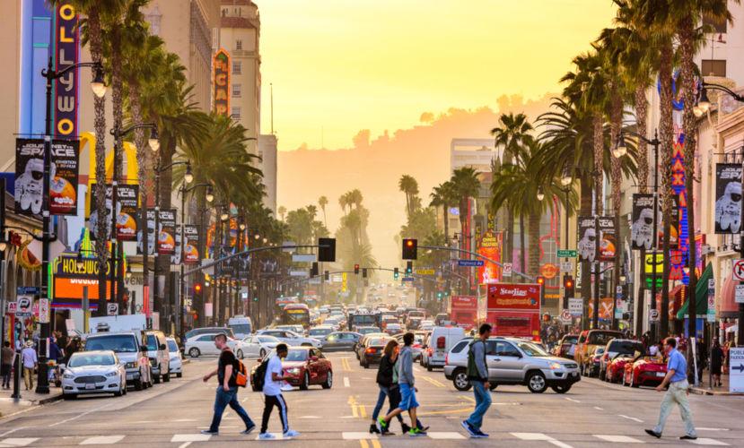 Los Angeles é a cidade cinematográfica dos Estados Unidos.