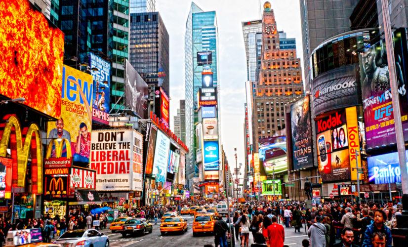 Nova Iorque é um dos principais destinos para quem gosta de programas culturais e moda.