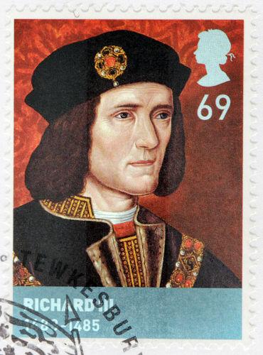 Ricardo III usurpou o trono do herdeiro de Eduardo IV e foi rei da Inglaterra entre 1483 e 1485.*