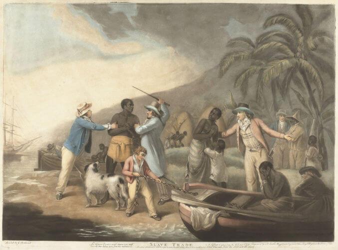 Com a proibição do tráfico negreiro, foi reforçada a venda interprovincial de escravos.