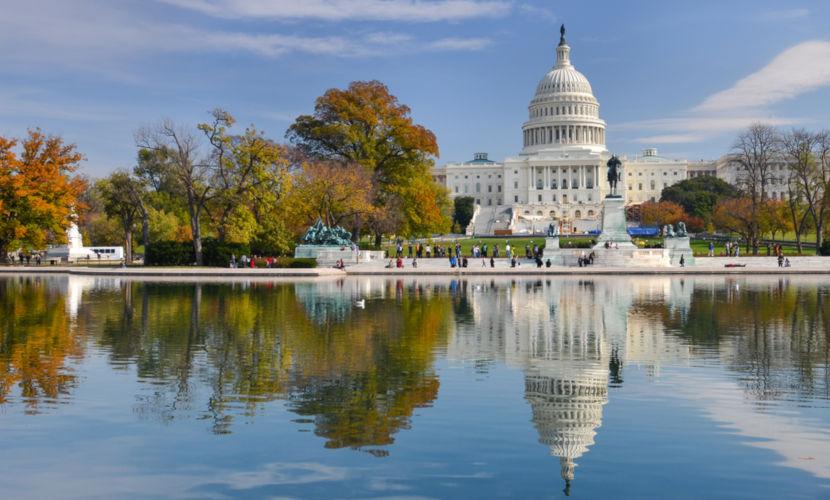 A capital dos Estados Unidos é a cidade de Washington, D.C., que é ao mesmo tempo o distrito federal do país.