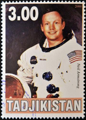 Neil Armstrong, comandante da expedição Apollo 11, que levou o homem à Lua, em 1969.***