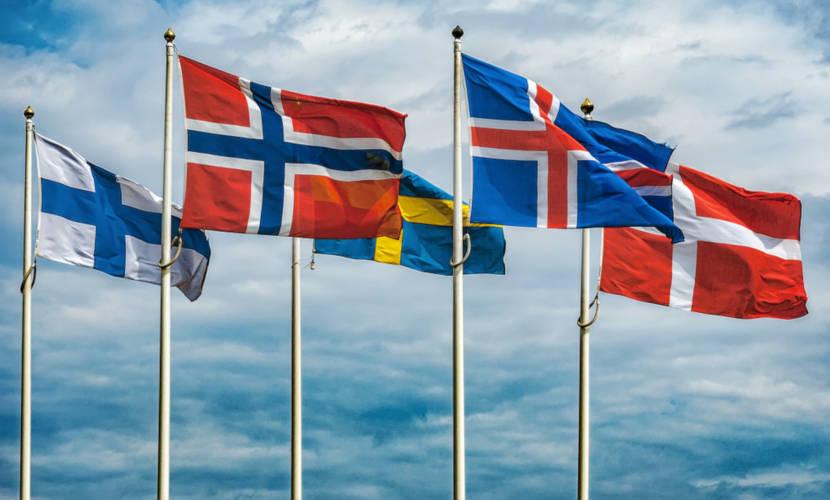 Os países nórdicos compreendem cinco nações e três regiões autônomas.