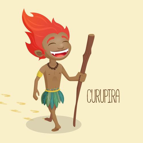 O curupira é uma das lendas mais famosas do folclore brasileiro e é conhecido como protetor da floresta.