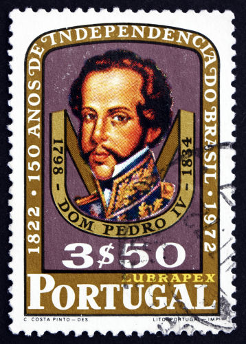 Dom Pedro I, conhecido como D. Pedro IV em Portugal, foi o grande nome do processo de independência do Brasil.*