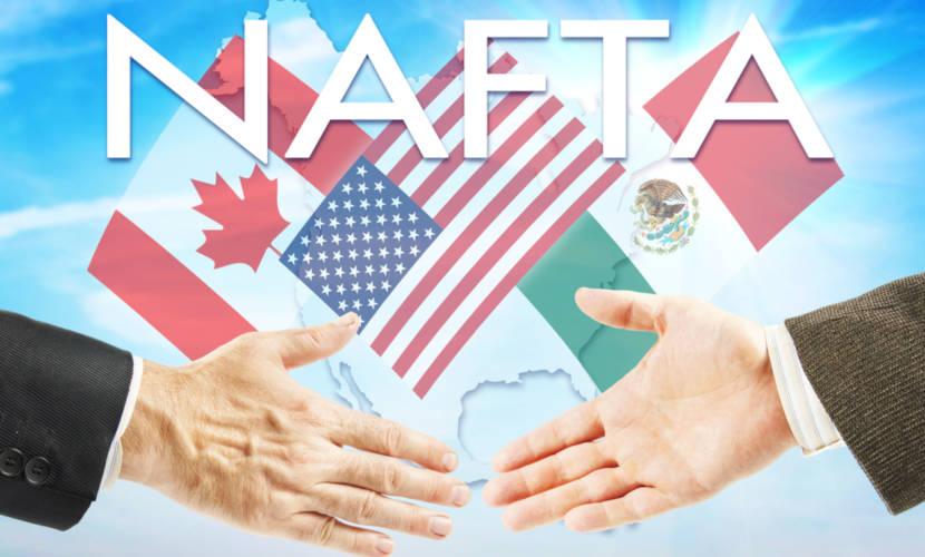 Nafta é o antigo acordo trilateral entre Estados Unidos, México e Canadá.