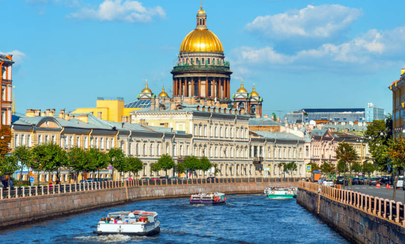 A Rússia é o maior país em extensão territorial do continente asiático e do mundo.