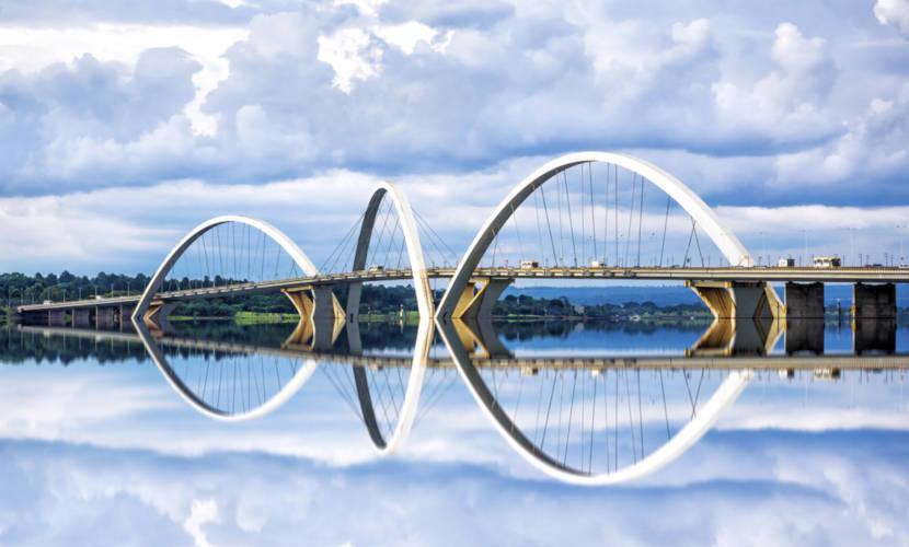 Brasília é a atual capital federal localizada no Distrito Federal.