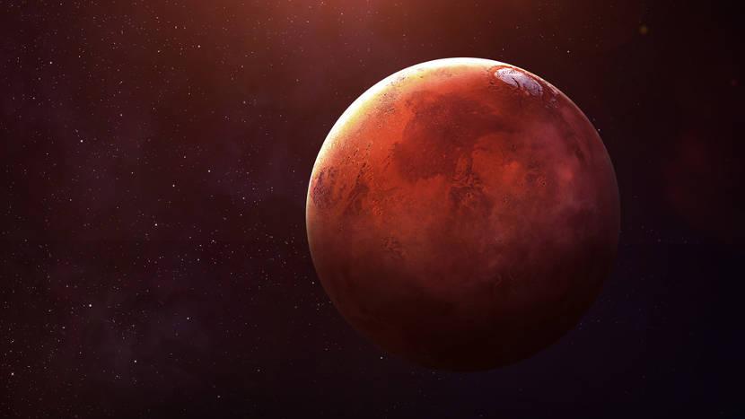 Marte é conhecido como Planeta Vermelho.