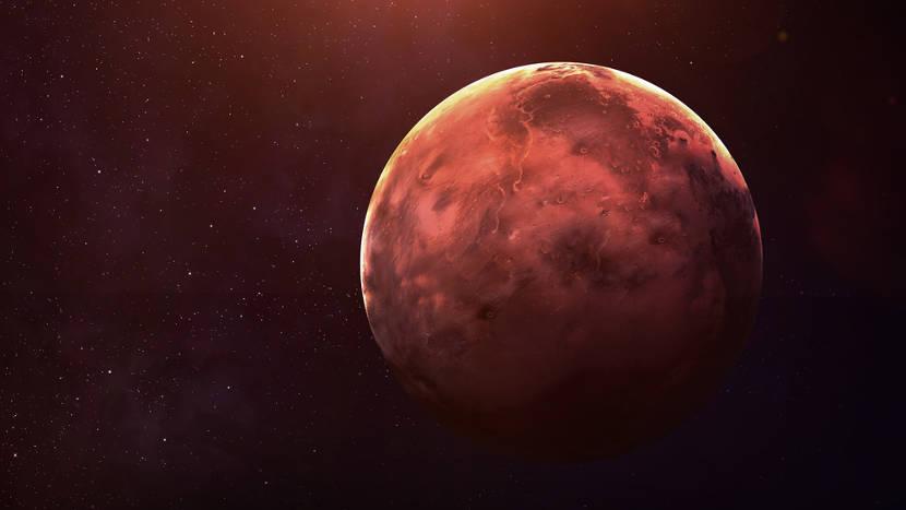 Mercúrio é o planeta mais próximo ao Sol.