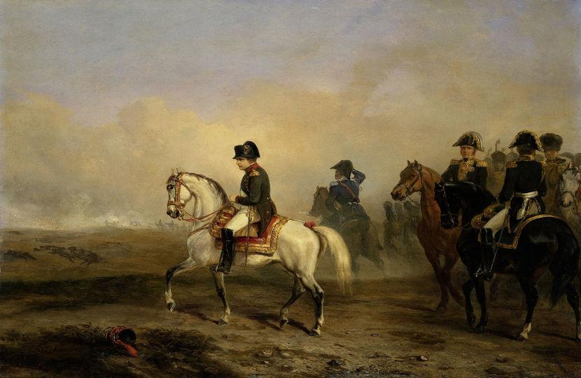 Napoleão tinha como objetivo a conquista de territórios.
