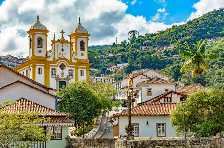 Vila Rica, atual Ouro Preto, foi o foco da revolta contra os portugueses no século XVIII, a Inconfidência Mineira.