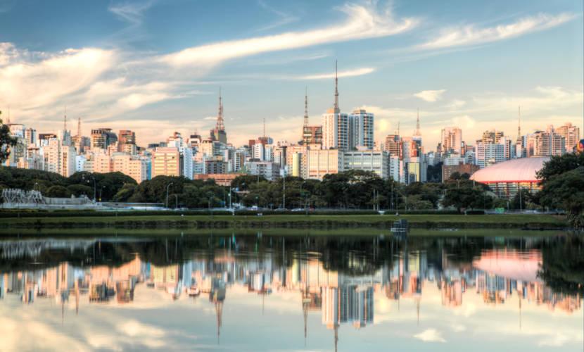 São Paulo é a cidade com maior número de habitantes do país.