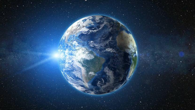 Terra é o planeta que apresenta condições para a existência de vida.