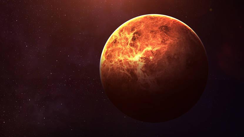 Vênus é um dos astros mais brilhantes do céu noturno.