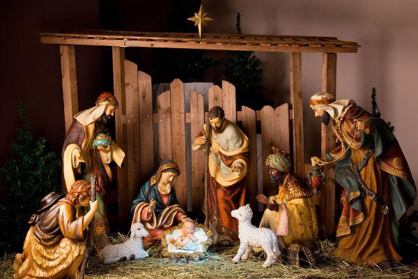 O presépio é um dos grandes símbolos do Natal e foi criado por São Francisco de Assis, no século XIII.