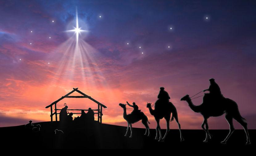 No Natal é celebrado o nascimento de Jesus Cristo, no ano 1.