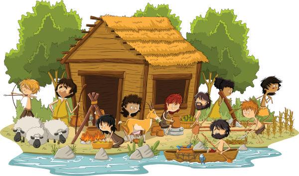 O grande feito do período Neolítico foi a sedentarização do homem e o desenvolvimento da agricultura.