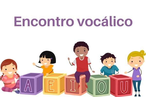 Os encontros vocálicos podem ser classificados como ditongo, tritongo ou hiato.