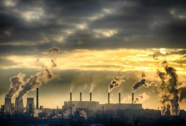 Redução da emissão de dióxido de carbono