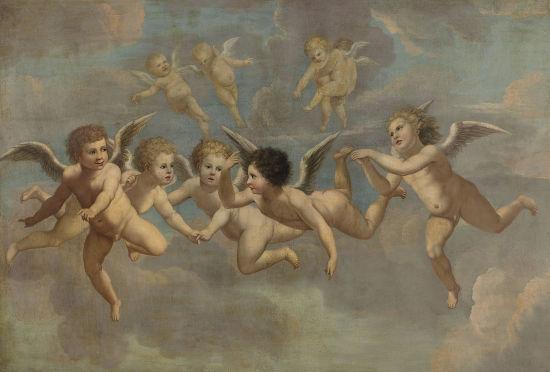 Afresco de artista anônimo (1650)