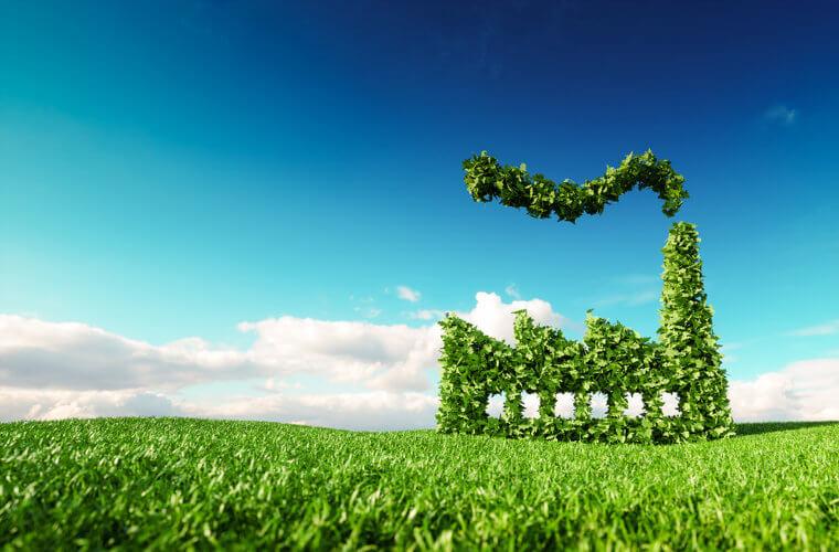 Redução da emissão de gases