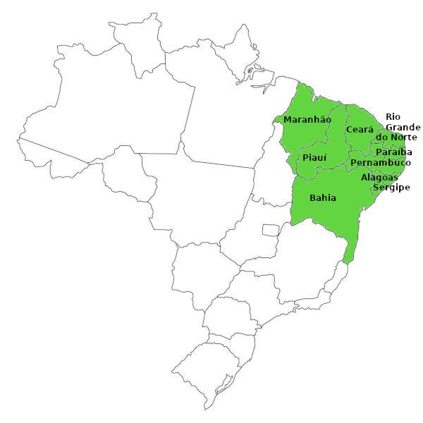 Mapa Do Brasil Mapa Politico Mapa Para Colorir E Muito Mais