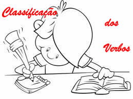 A classificação dos verbos se dá de formas distintas