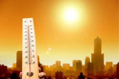 As ilhas de calor provocam o aumento das temperaturas nas cidades