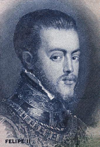 Filipe II da Espanha foi o rei que ocupou o trono português em 1580 e deu início à União Ibérica.