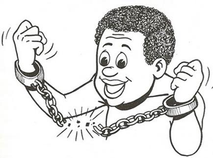 A libertação dos escravos - 13 de maio de 1988