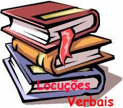 As locuções verbais se constituem de dois verbos: um auxiliar e um principal