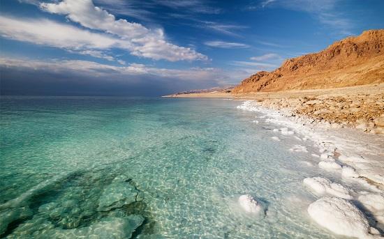 O Mar Morto é um belo ponto turístico