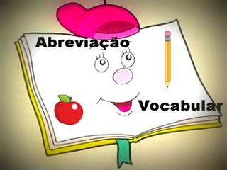A abreviação vocabular consiste na redução de uma determinada palavra, sem que isso lhe altere o sentido