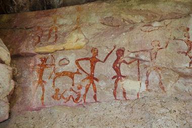 A pintura rupestre é uma das principais fontes de estudo da Pré-História