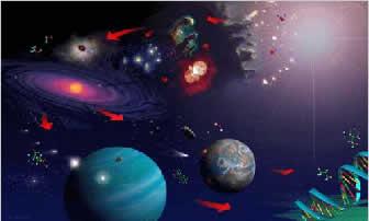 O universo abriga bilhões de galáxias
