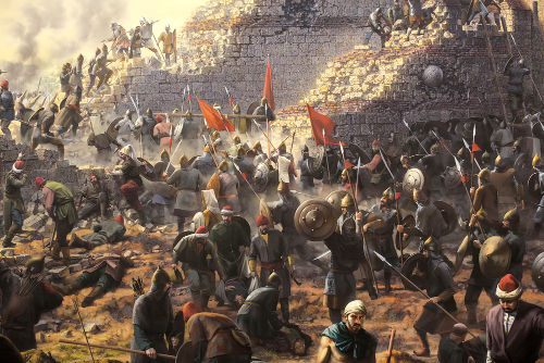 A queda de Constantinopla ocorreu em 1453
