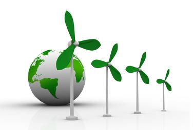 A energia eólica não emite poluentes