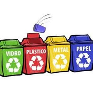 Na coleta seletiva de lixo, deve-se separar o lixo seco do lixo úmido.